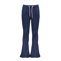 meisjes broek flaired space blue
