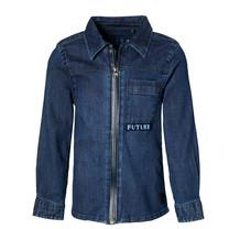 jongens blouse Loyd dark blue indigo