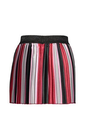 B.Nosy rok striped satin pleated trendy stripe
