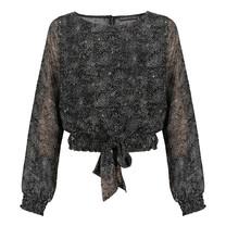 blouse Resi moonstar print