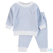 wafel pyjama blue