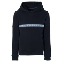 jongens trui hooded Klaas dark blue