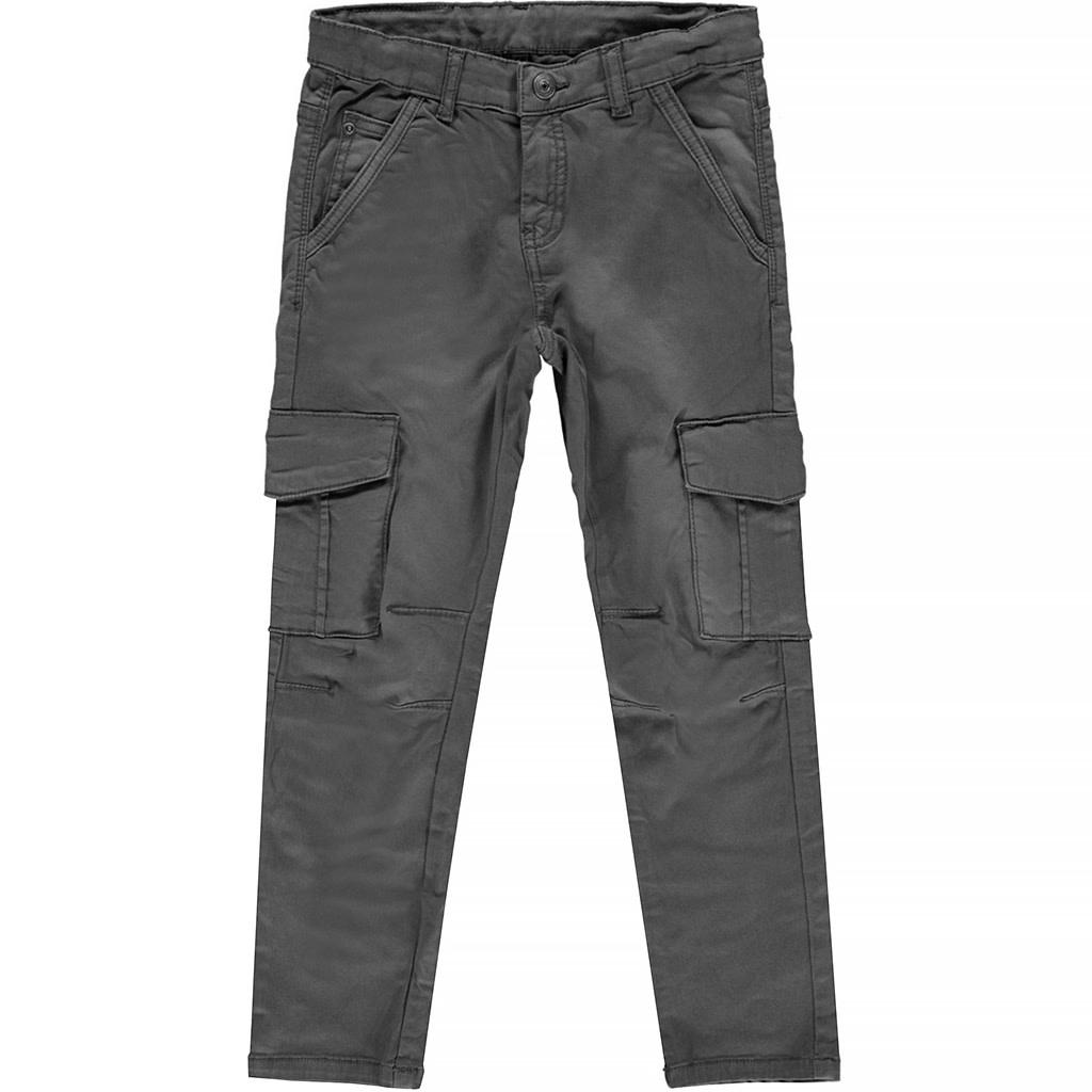 jongens broek Dolf dark grey