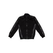 vest with tape jequard logo black