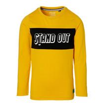 jongens longsleeve Deen warm yellow