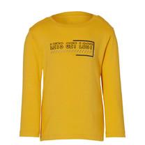 jongens longsleeve Eddie warm yellow