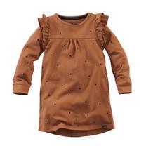 jurk Masala copper blush aop