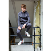 joggingpak faded grey