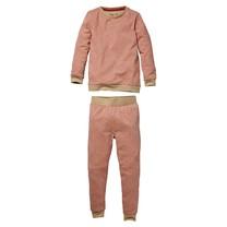 meisjes pyjama Puck aop pink animal
