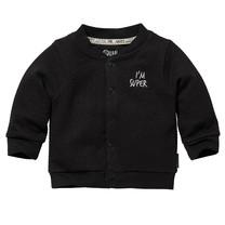 jongens vest Zavi dark grey