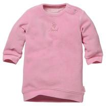 jurkje Zahra pink velvet