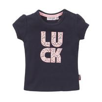meisjes T-shirt navy