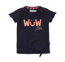 Dirkje meisjes T-shirt navy
