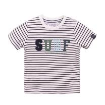 jongens T-shirt navy + stripe