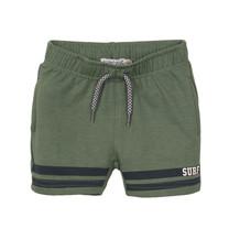 jongens short faded green