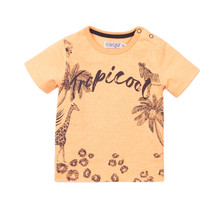 Dirkje jongens T-shirt bright orange