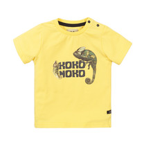 jongens T-shirt light yellow