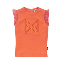 meisjes T-shirt orange