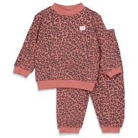 wafel pyjama Terra pink fashion edition