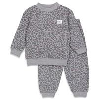 wafel pyjama antraciet fashion edition