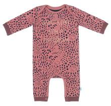Charlie Choe meisjes pyjama boxpakje aop dusty rose + navy