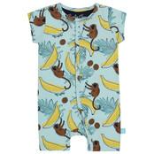 Charlie Choe jongens pyjama boxpakje aop aqua blue