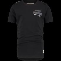 jongens T-shirt Hargo deep black