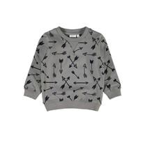 jongens trui Sander mecca granite grey