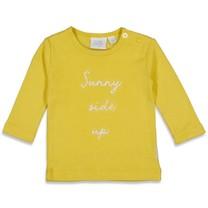 longsleeve sunny side geel - sunny mood
