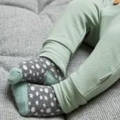 Feetje broek mint - animal friends