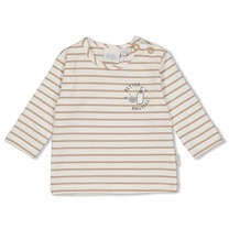 longsleeve streep offwhite - mini cookie