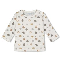 longsleeve aop offwhite - mini cookie