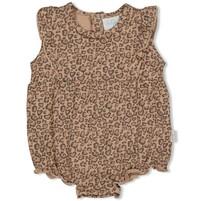 meisjes romper zand - panther cutie