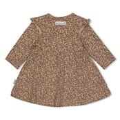 Feetje jurk aop zand - panther cutie