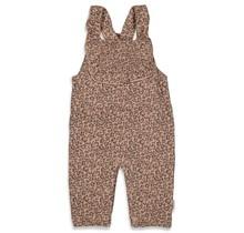 Feetje meisjes tuinbroek zand - panther cutie