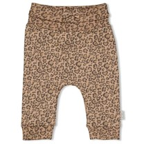 meisjes broek aop zand - panther cutie