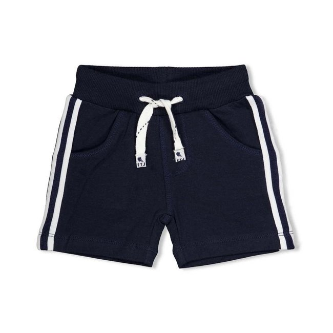 Feetje jongens short marine - team icecream