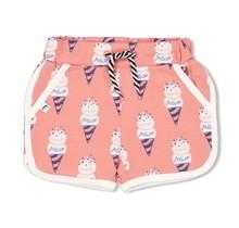 Feetje meisjes short aop koraal - sweet gelato