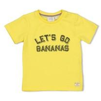 jongens T-shirt let's go geel - playground