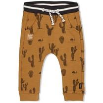 jongens broek aop camel - looking sharp