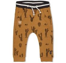 Feetje jongens broek aop camel - looking sharp