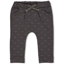 meisjes broek ruches antraciet - little thing called love