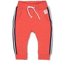 Feetje jongens broek oranje - here comes the fun
