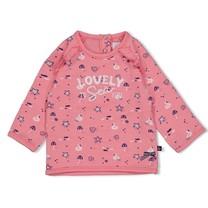meisjes trui roze - seaside kisses