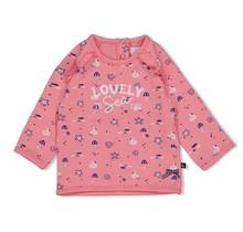 Feetje meisjes trui roze - seaside kisses