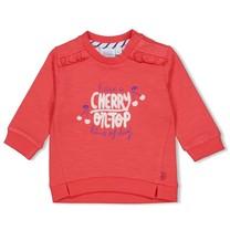 meisjes trui rood - cherry sweetness