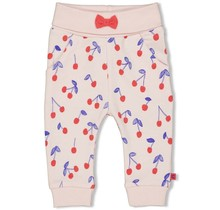 Feetje legging aop roze - cherry sweetness