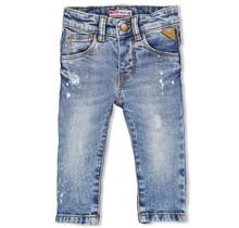 Feetje jongens spijkerbroek l. blauw denim - summer denim