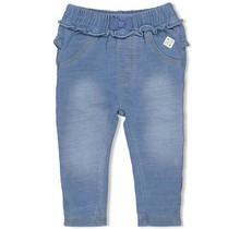 Feetje meisjes broek denimlook blauw - summer denim