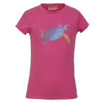 meisjes T-shirt cabana fluo pink
